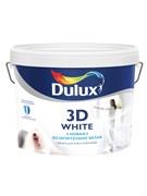 Краска для потолков Dulux 3D Ослепительно Белая, 10 л